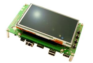 Armadillo-840液晶モデル開発せっとのイメージ