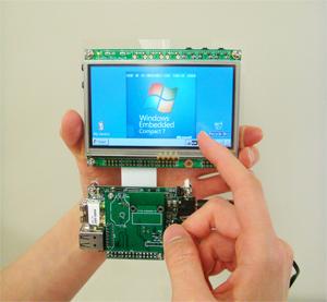 Armadillo-440液晶モデルでWindows Embedded Compact 7を動作させる