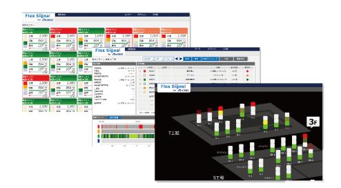 工程監視システムデモ画像